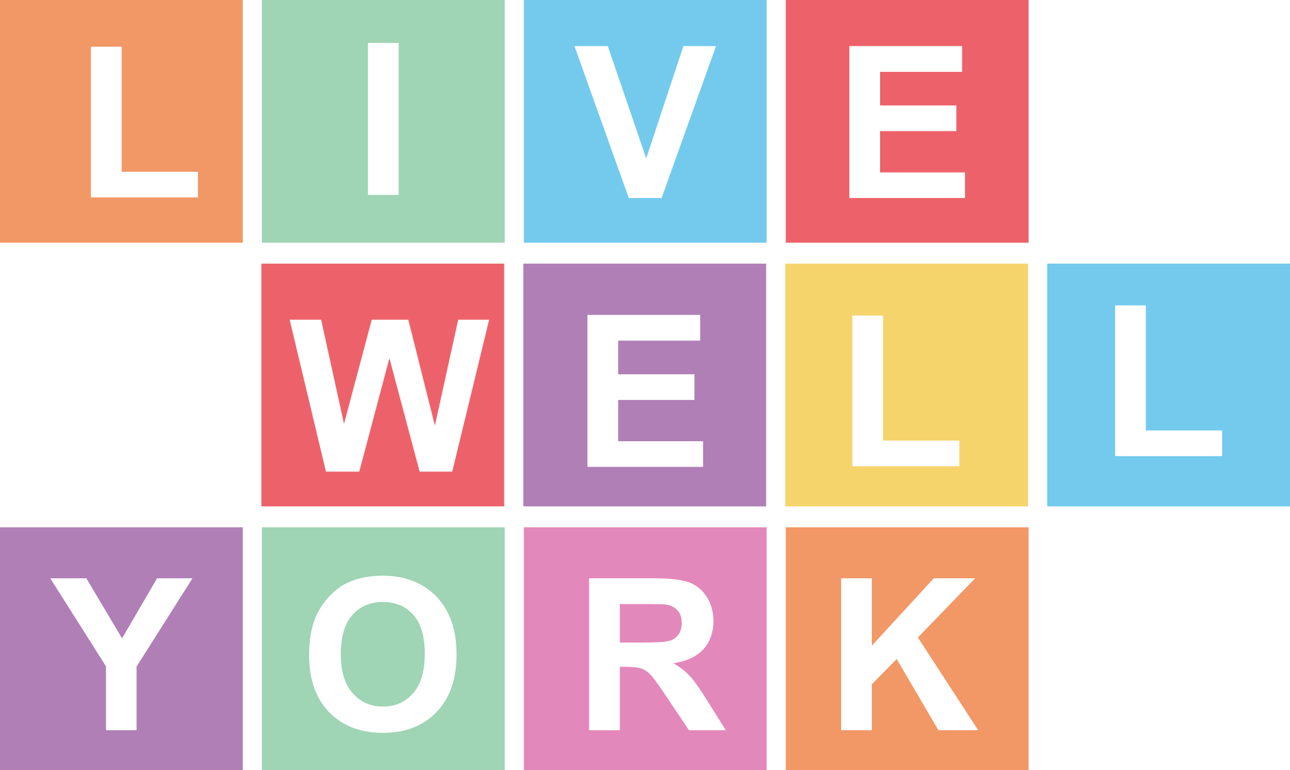 Live Well York logo link to home